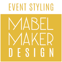 Event Styling Mabel Maker Design